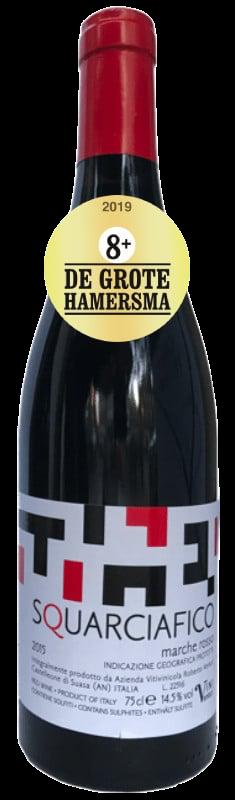 Squarciafico Marche Rosso Vini Venturi 8+ Hamersma